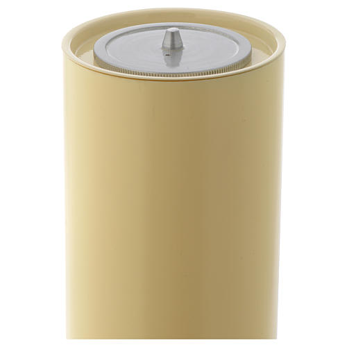Candelieri ottone base lavorata 5