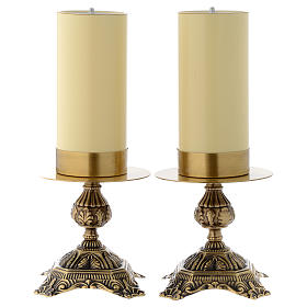 Pair of altar candle holders s1