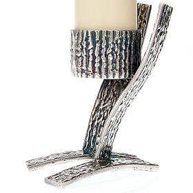 Pair of modern candle holders s4