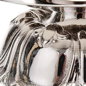Candelieri in ottone argentato tondo s4