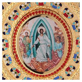 Golden brass Lectionary/Evangeliary Slipcase s2