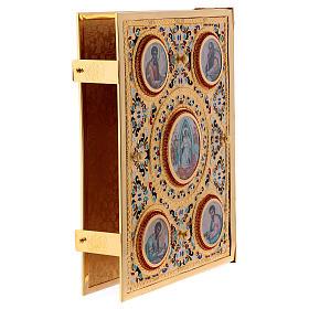 Golden brass Lectionary/Evangeliary Slipcase s5