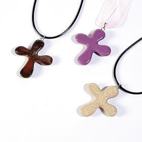 Croce pendente tonda s1