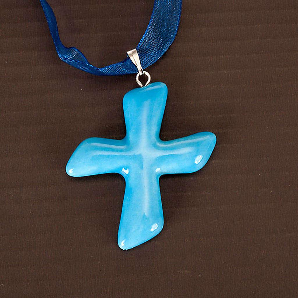 Cruz colgante San Andrés 4