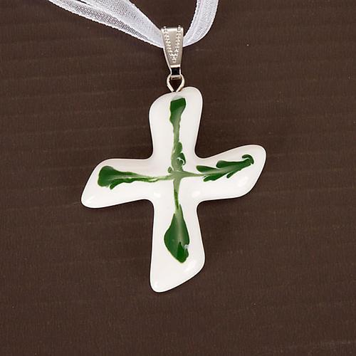 Saint Andrew's cross pendant 3