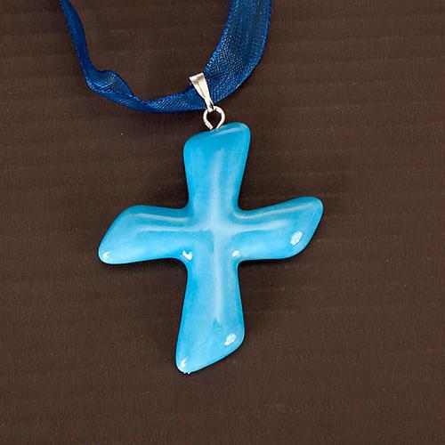Saint Andrew's cross pendant 4