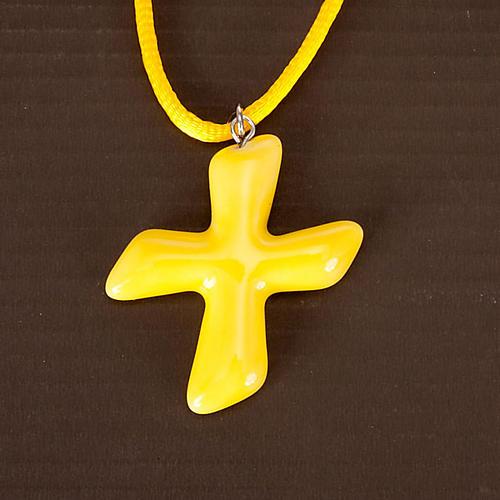Saint Andrew's cross pendant 5