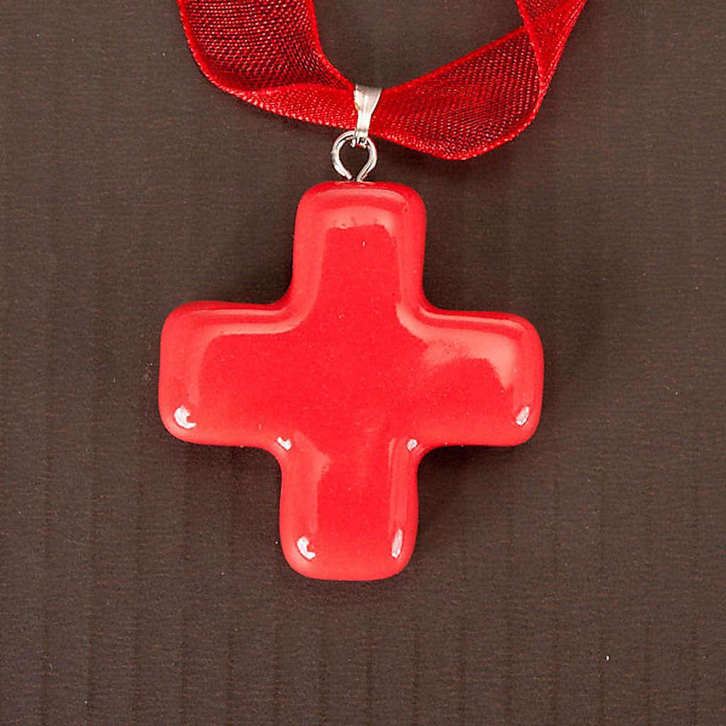 Cruz colgante cuadrada 4