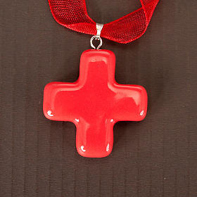 Squared cross pendant s7