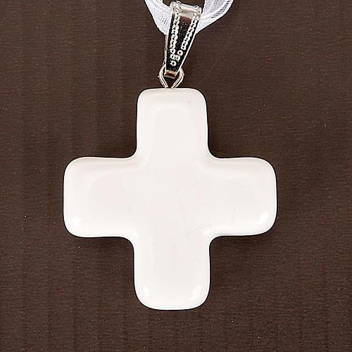 Squared cross pendant 2