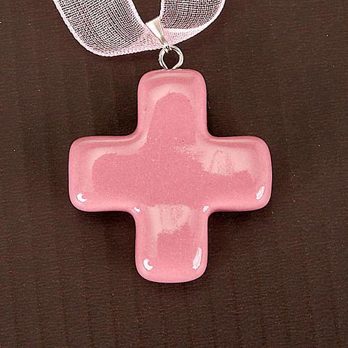 Squared cross pendant 3