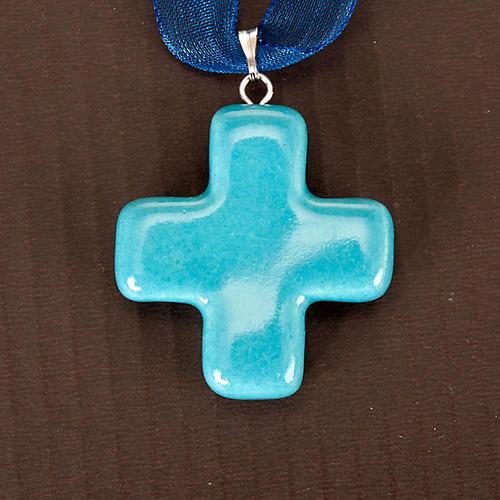 Squared cross pendant 5