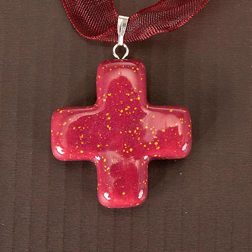 Squared cross pendant 6
