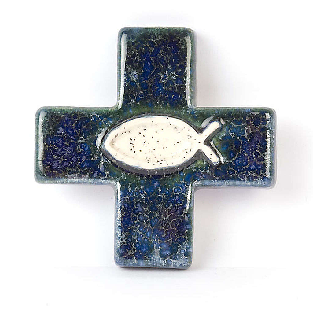 Cross with fish 4