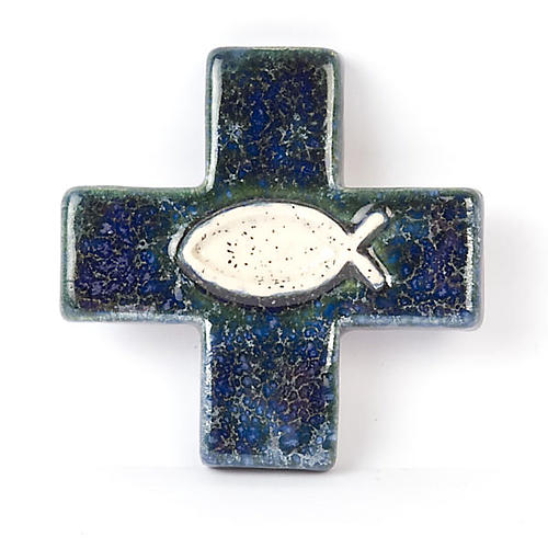 Cross with fish 1
