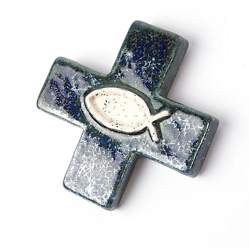 Cross with fish 2