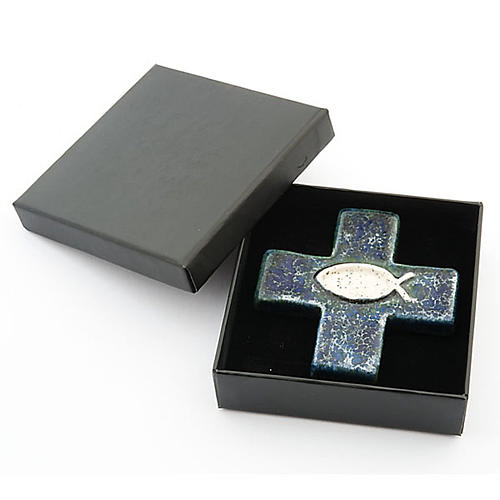 Cross with fish 3