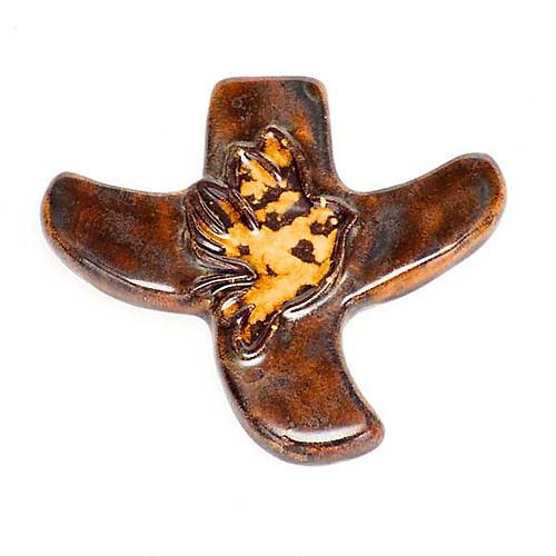 STOCK: Croce stilizzata colomba 8