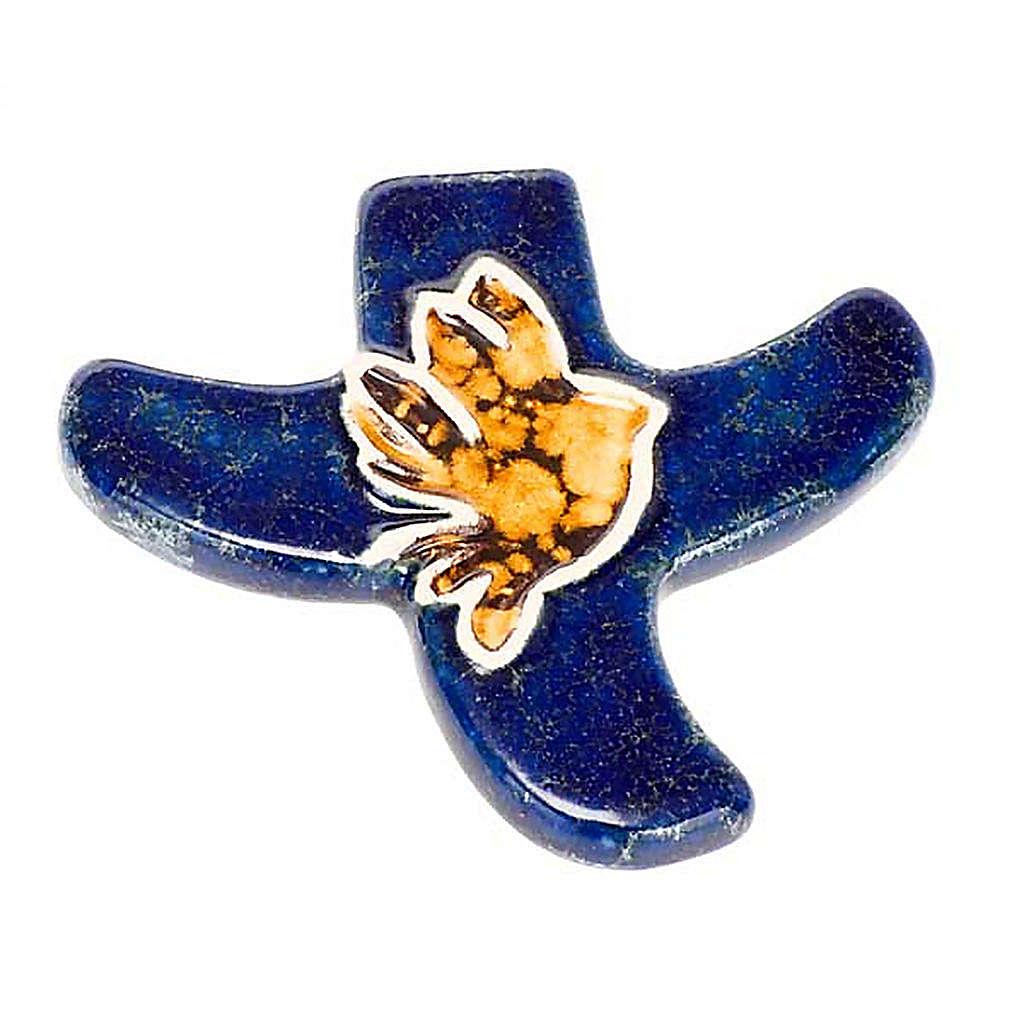 Taizé dove stylised crucifix 4