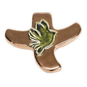 Taizé dove stylised crucifix s7