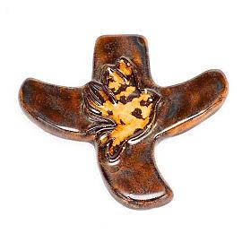 Taizé dove stylised crucifix s8