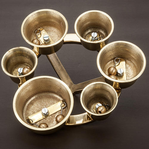 Liturgical bell six sounds 4