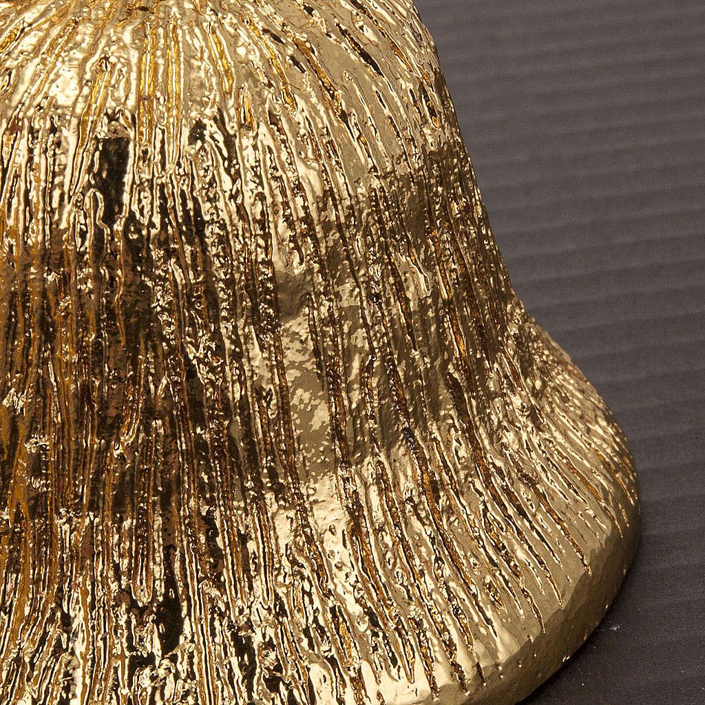 Altar bell, 4 sounds in golden brass 3