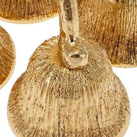 Altar bell, 4 sounds in golden brass s2