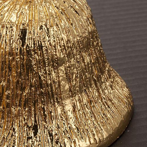 Altar bell, 4 sounds in golden brass 5