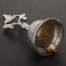 Dzwonek liturgiczny jednotonowy rowkowany mosiądz s3
