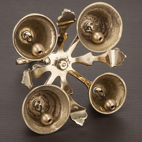 Church handbell four sounds decorated s4