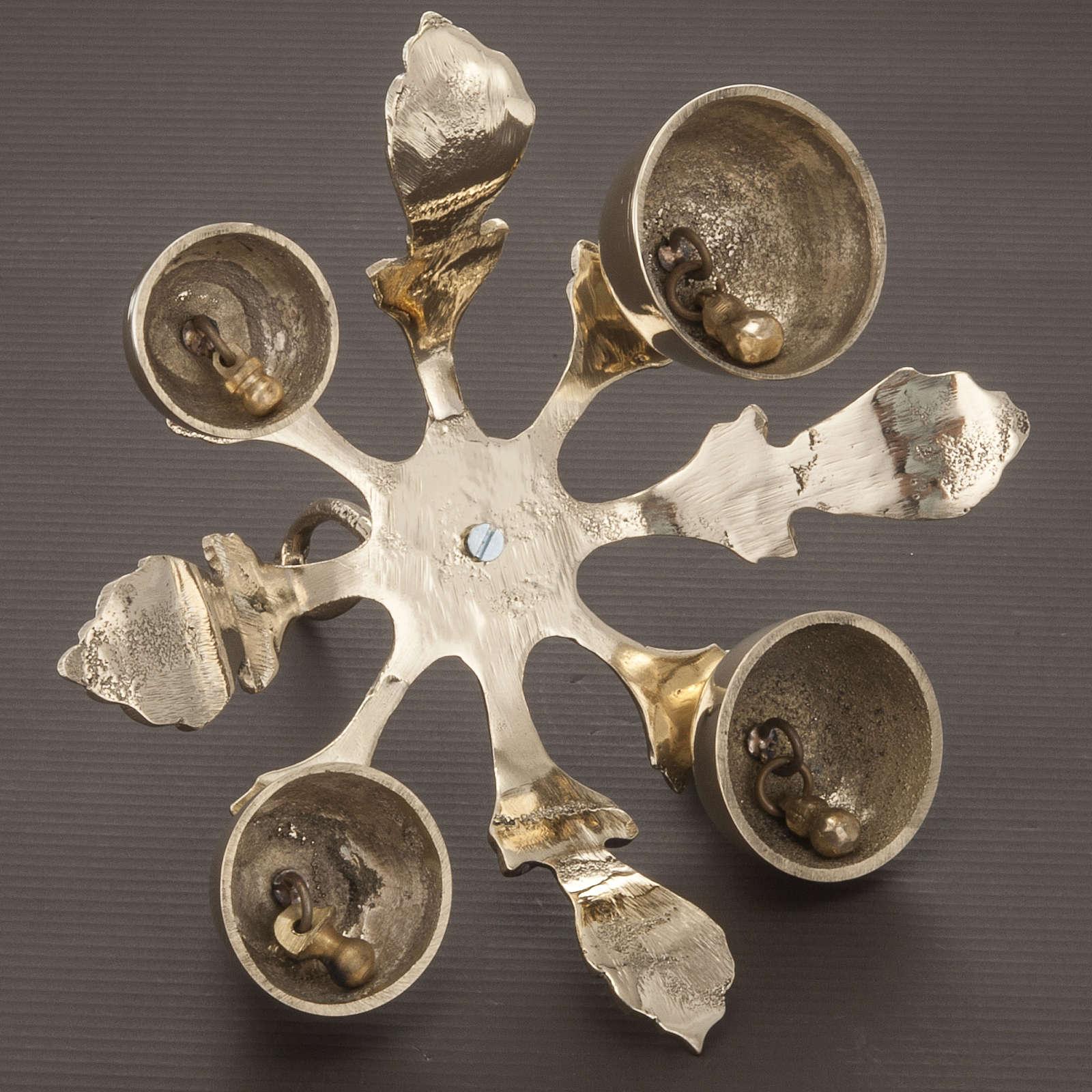 Campana litúrgica de cuatro sonido, decorado 3
