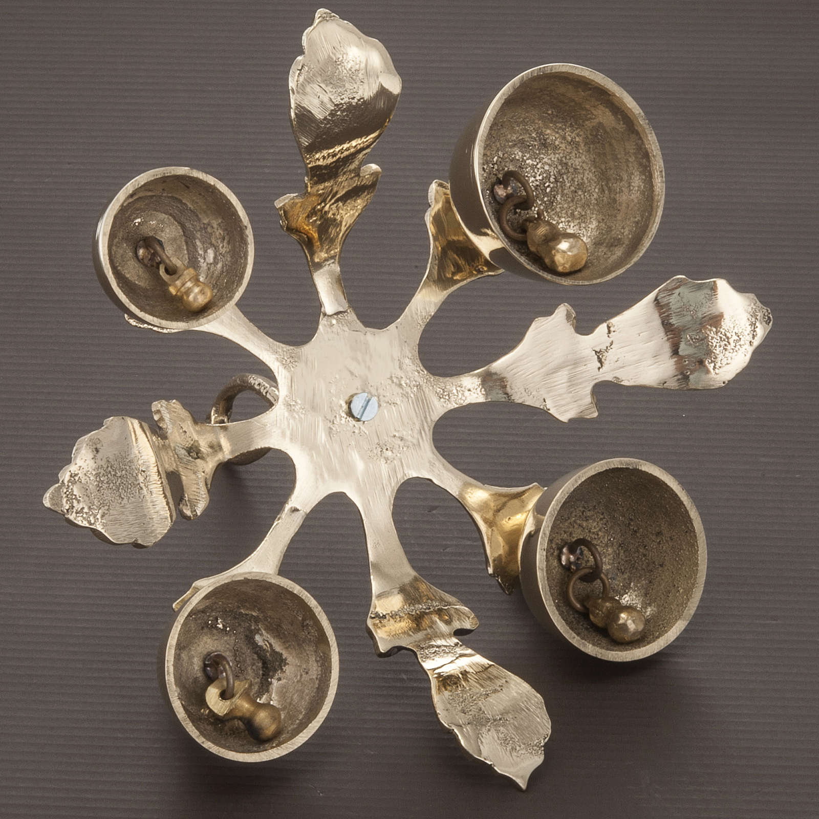 Carillon d'autel à quatre sons décoré doré 3