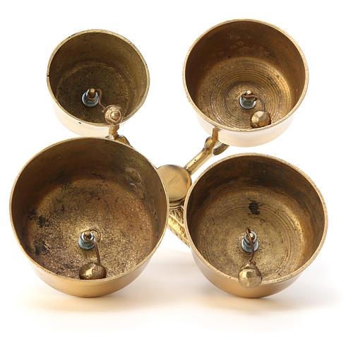 Clochette liturgique allemand 4 sons 3