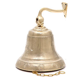 Altar bell, Angel model with wall fitting 14cm s1