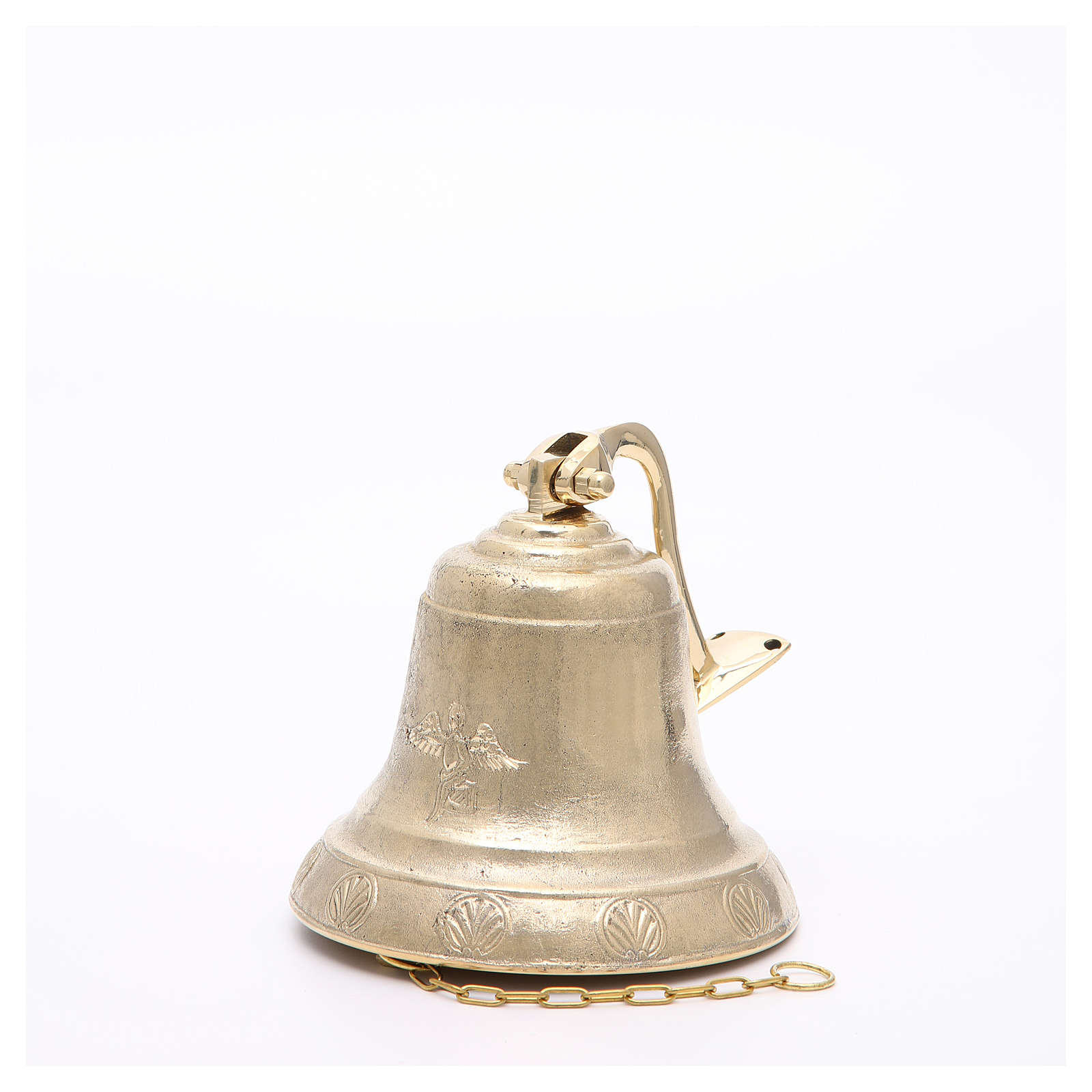 Altar bell, Angel model with wall fitting 14cm 3