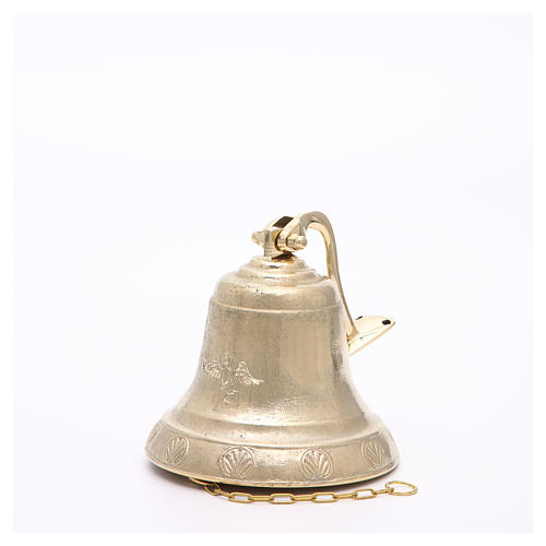 Altar bell, Angel model with wall fitting 14cm 4
