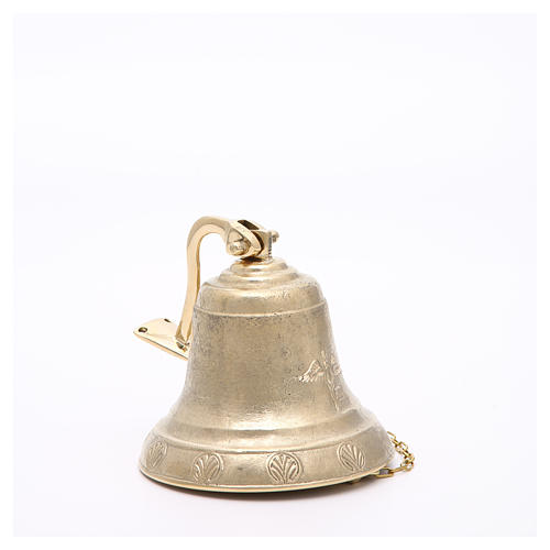 Altar bell, Angel model with wall fitting 14cm 6