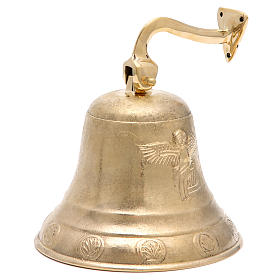 Altar bell, Angel model with wall fitting 20cm s1