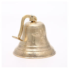Altar bell, Angel model with wall fitting 20cm s5