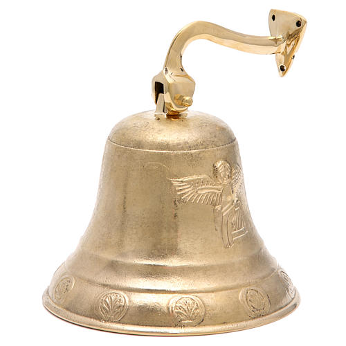 Altar bell, Angel model with wall fitting 20cm 1