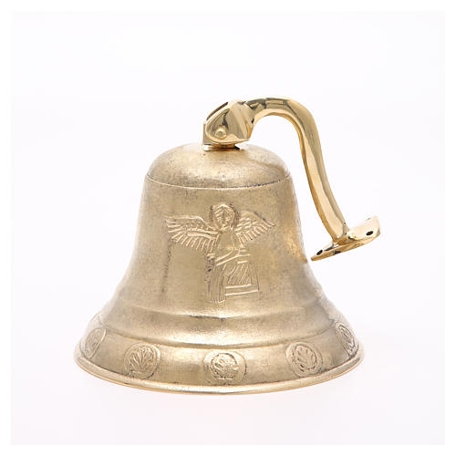 Altar bell, Angel model with wall fitting 20cm 3