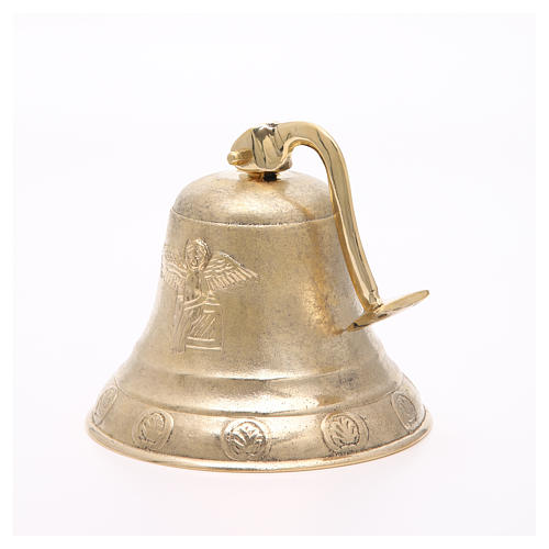 Altar bell, Angel model with wall fitting 20cm 4
