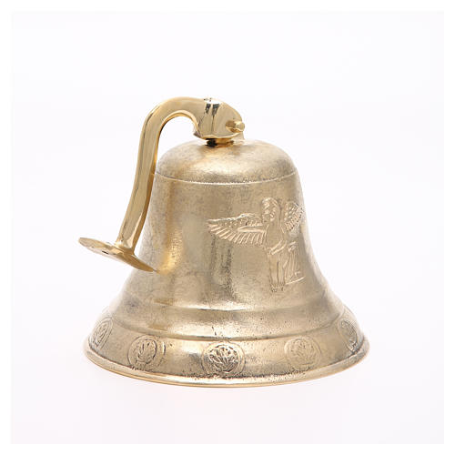 Altar bell, Angel model with wall fitting 20cm 5