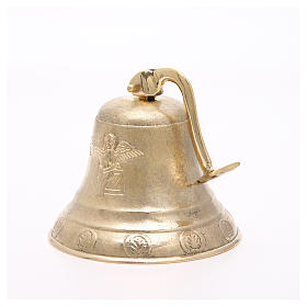 Altar bell, Angel model with wall fitting 20cm s4