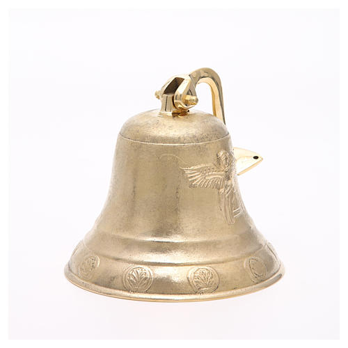 Altar bell, Angel model with wall fitting 20cm 6