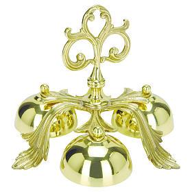 Campanello liturgico in ottone Molina s1