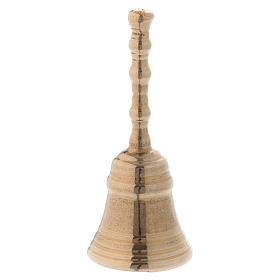 Campanella ottone dorato diam. 9 cm s1