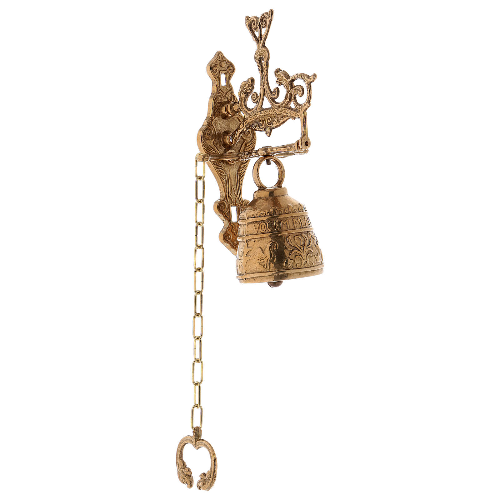 Wall mounted bell with movement 7 cm 3
