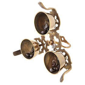 Liturgical bell three sounds gothic decoration s3